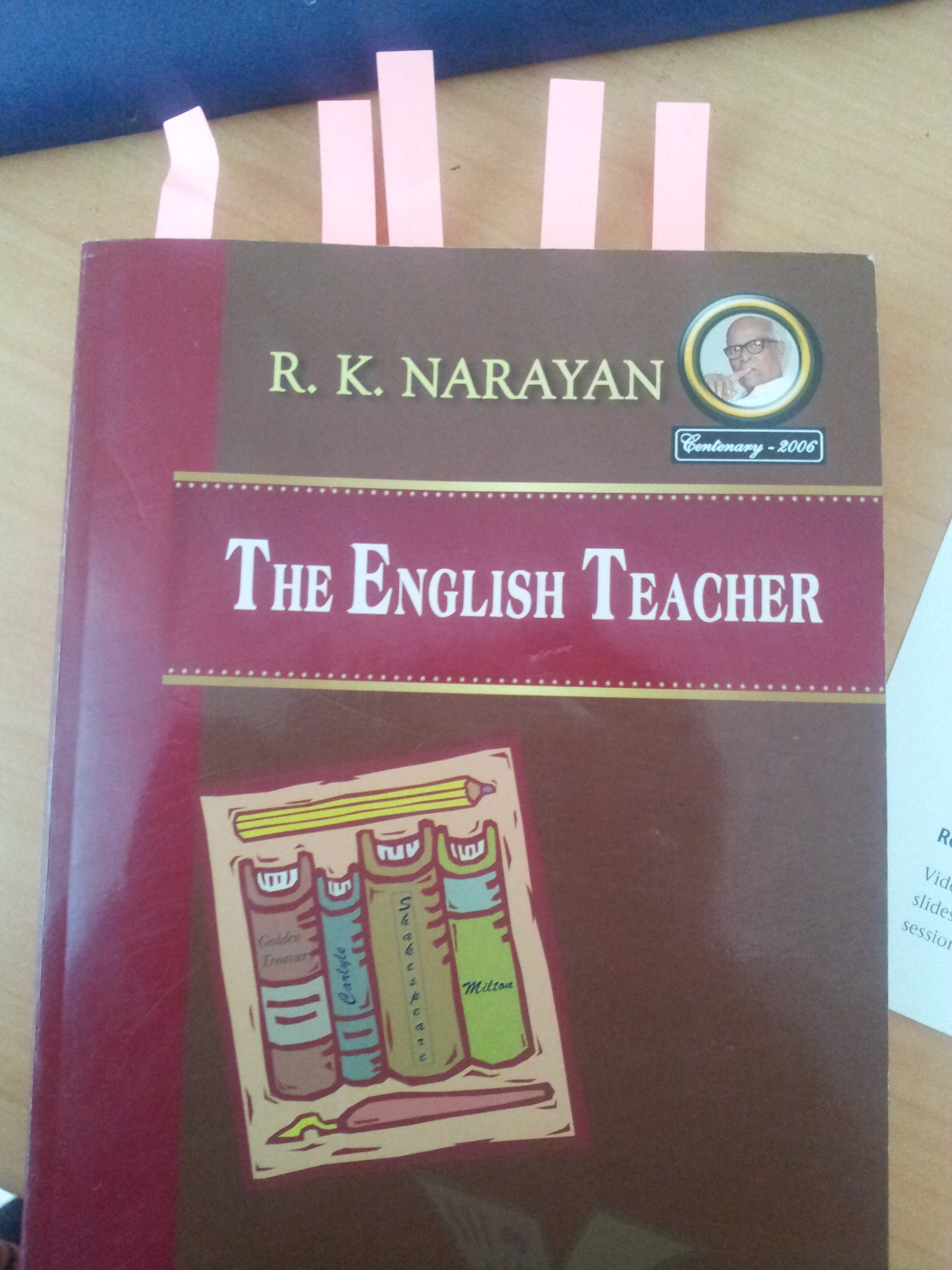 an analysis of the english teacher by r k narayan Find the english teacher by narayan, r k at biblio uncommonly good collectible and rare books from uncommonly good booksellers.